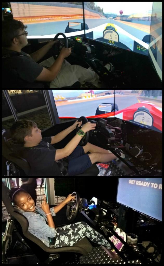 Simulator Collage